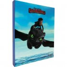 DreamWorks DRAGONS Ringbuch, Blau