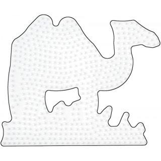 Hama Midi Bügelperlen Stiftplatte weiß 294 Kamel