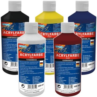 Stylex Acrylfarbe 500 Ml 3 95