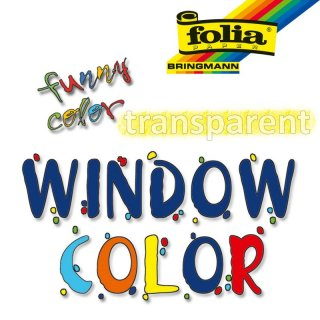 folia Funny Color Window Color 80 ml transparent