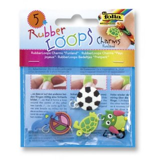folia RubberLoops Charms FUNLAND