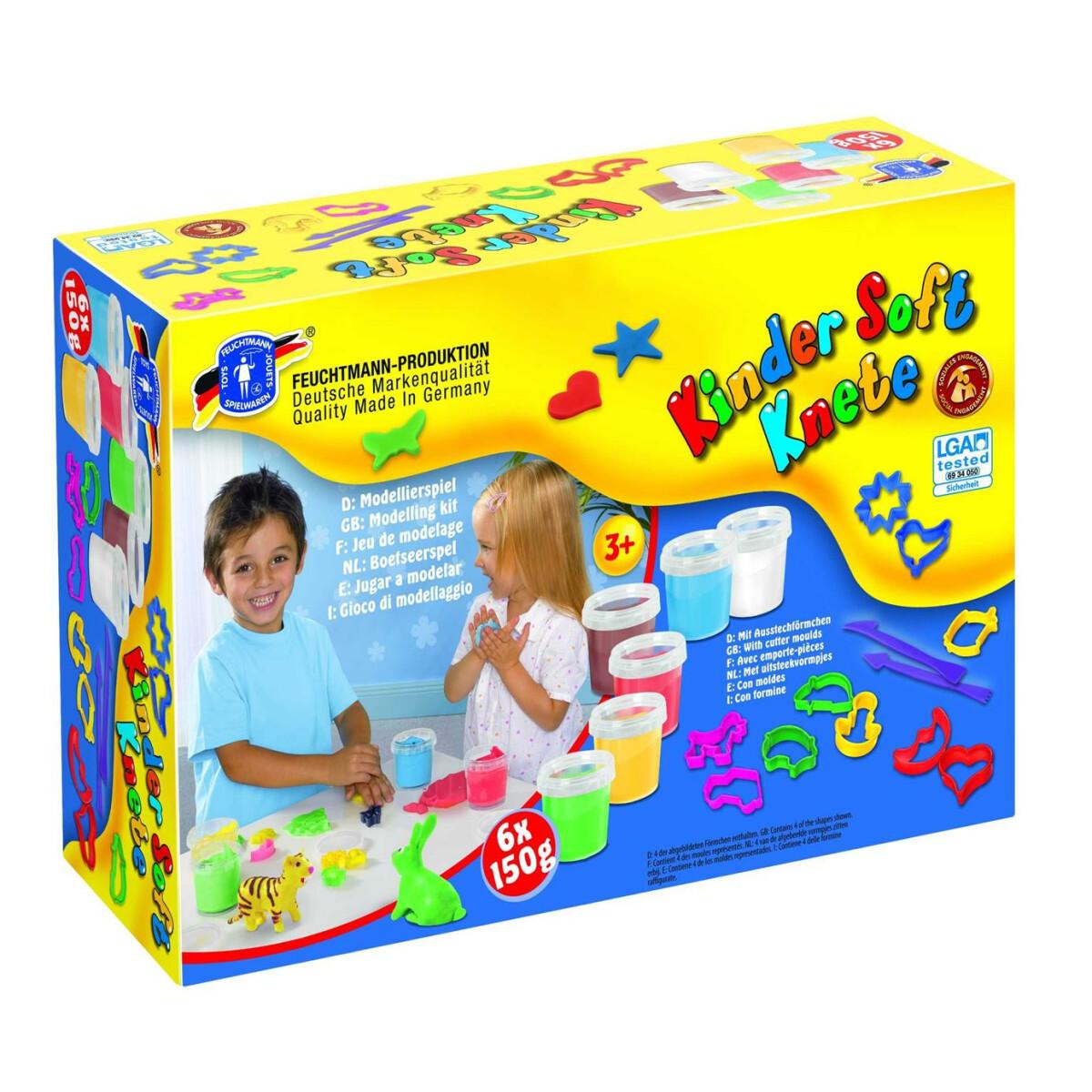 LYRA GIOTTO Pongo 450g Knetmasse Hellblau weiche Kinder Knete Soft-Knete