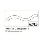 folia Window Color 80 ml Kontur, Transparent
