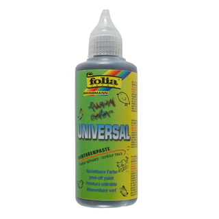 folia Window Color 80 ml Kontur, Schwarz