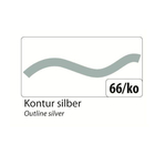 folia Window Color 80 ml Kontur, Silber