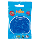 Hama 2000 Mini Bügelperlen - Transparent-Blau