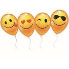 STYLEX 6 Luftballons Smiley