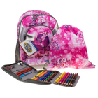 SCHOOL-MOOD 3-tlg. Schulrucksack Set LOOP Schmetterling