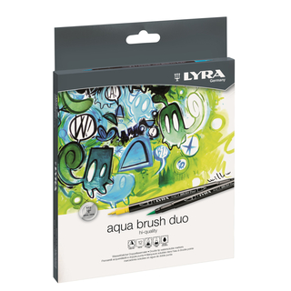 LYRA 12 AQUA BRUSH Duo Fasermaler