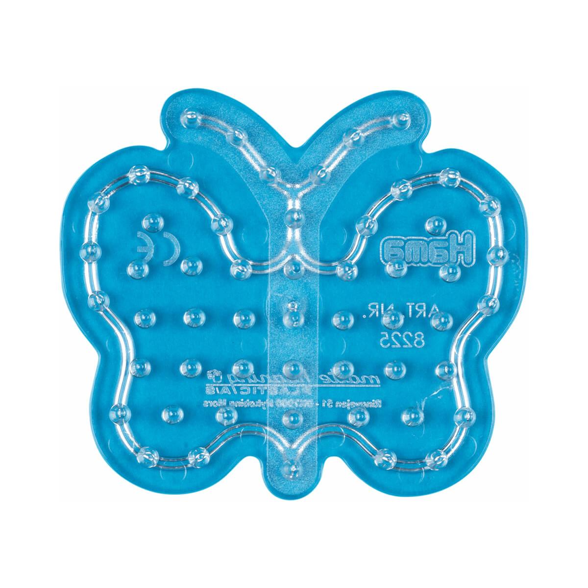 Hama Stiftplatte Schmetterling transparent für Maxi-Bügelperlen