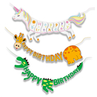 STYLEX Buchstabenkette Girlande Happy Birthday